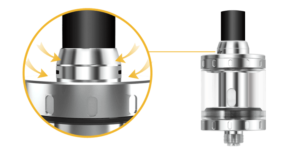 Aspire Nautilus X Adjustable Airflow